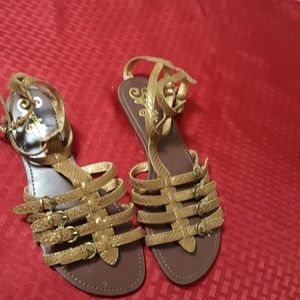 Seychelles bronze sandals Size 8.5